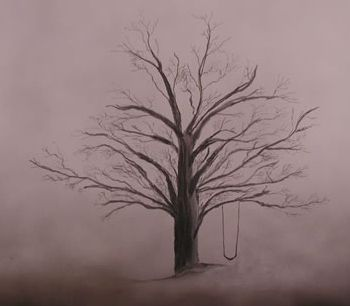 Tattoo Ideas, Bereavement Quotes, Trees Tattoo Swings, Inspiration ... Under A Funeral Moon