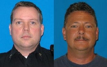 Sgt. Nick Hausner and Deputy Kent Mundell