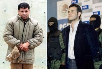 Joaquin Guzman Loera and Ismael Zambada Garcia, leaders of the Sinaloa Cartel