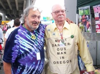 Jack Herer and Dr. Phil Leveque