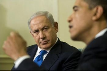 Obama and the Israeli henchman