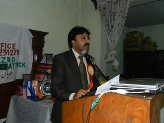 Albert David - Chairman Pakistan United Christian Movement