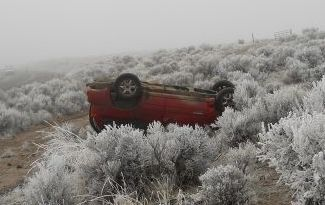 Fatal crash 31 Jan 2011 near Burns, Oregon