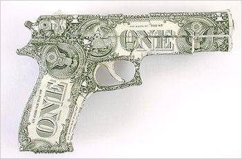 Dollar as a gun