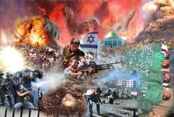 Israel's existence is formed around war and violence.