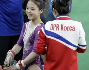 Korean gymnasts