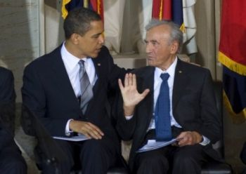 President Obama and Elie Wiesel