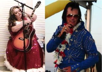 BobbiLynn Forbus and Joe Mendonca as ELVIS