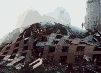 What remained of WTC-7