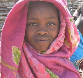 Sudanese girl named Guisma