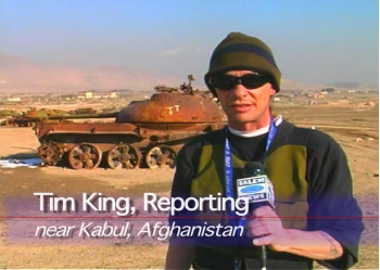 Tim King reporting in Afghanistan