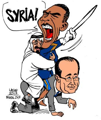 Obama the warmonger
