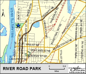 map of river road park