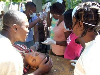 Scene from the earthquake period in Haiti UNPhoto
