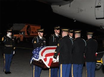 Homecoming for M/Sgt Dane Clark Paresi USA (Ret) who was killed in Afghanistan.
