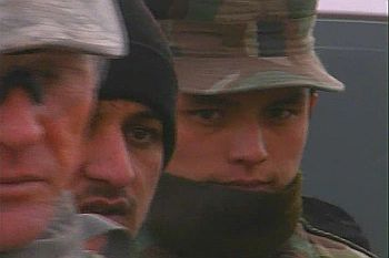 Faces of Afghan soldiers in Kabul