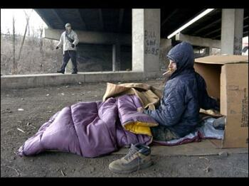 Willamette Valley Homeless Seeking Shelter From The Cold