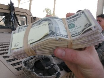 Money for the Sunni militias in Iraq