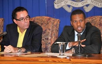 Jamaica responds to Hatian earthquake Ronald Jackson  and Honourable Daryl Vaz