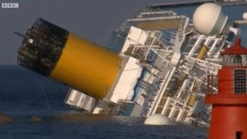 Capsized Costa Concordia