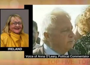 Anna O'Leary on Press TV