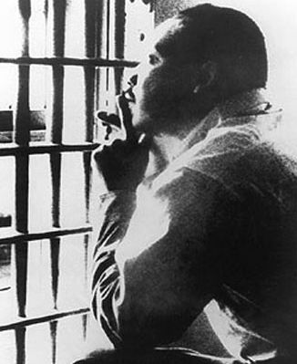 Dr. King in the Birmingham jail