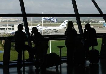 Israel's Ben-Gurion International Airport near Tel Aviv