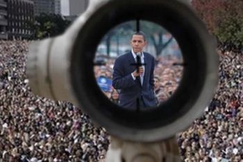 Obama in the crosshairs?