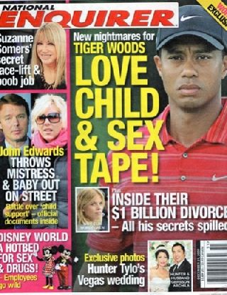 national enquirer Tiger Woods