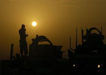 411st BCT in Iraq