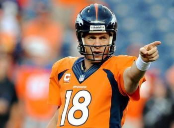 Peyton Manning, quarterback for the Denver Bronco's