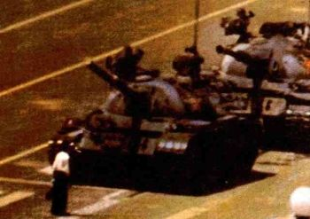 Image from Tiananmen Square protests of 1989