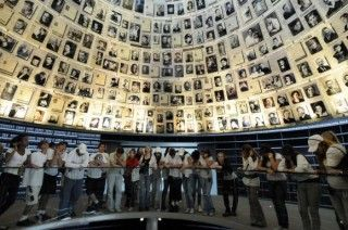 Israelis mark Holocaust Memorial Day in Jerusalem.