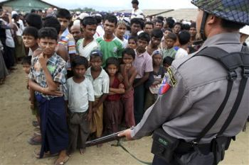 The Rohingya people of Burma in particular, are suffering at the hands of a Genocidal Buddhist population
