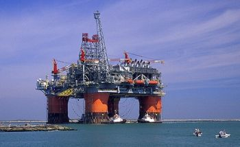 Massive BP oil rig