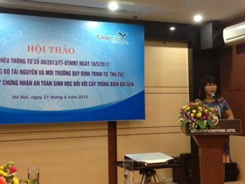 Vietnam workshop on GMO