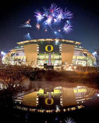 University of Oregon Fireworks Show