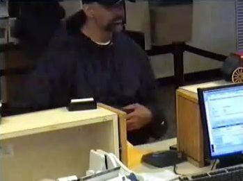 Photos of suspect Woodburn Bank Robbery 7-7-09