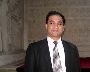 Ilham Tohti in France, February 2009. RFA photo