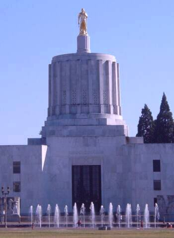 Oregon capitol photo