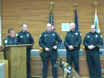Salem Police honored