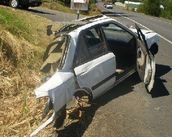 Man Dies From Crash that Split His Car in Half - Salem-News Com
