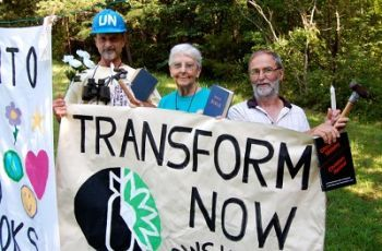 Activists for Transform Plowshares