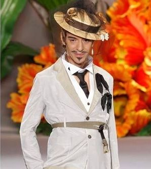 John Galliano is one of the world's leading fashion designers, and he thinks an awful lot of Hitler.