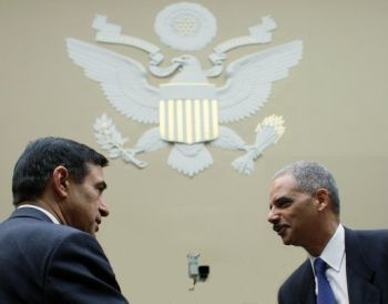 Darryl Issa and Eric Holder