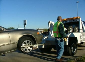 Illegal towing takes place all over the nation.  This photo was taken in New Jersey.
