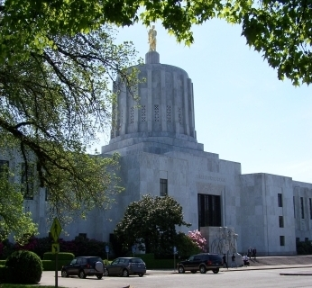 Oregon state capitol
