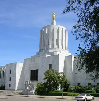 Oregon's capitol building