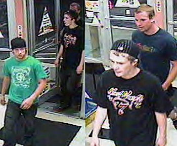 Suspects in a theft and assault incident at the Salem Circle K store on South 12th Street 5 30 07