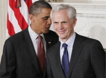 President Obama and John Bryson, the United Secretary of Commerce